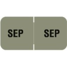 MBLM-09 | September Month Labels Barkely FMBLM Size 3/4H x 1-1/2W Laminated 250/Box