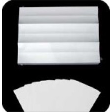 MP28 | Mylar 2 x 8 Clear Self Adhesive Tab Protection Label 500/Pack