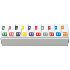 AVN-SET | Acme Visible Numeric Series Complete Set 0-9 Includes Organizer Tray