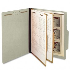 D60904-10CTN | Pale Green Classification Folder, 2 Dividers, Letter Size, 10/ctn