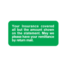 SY-1771 - YOUR INSURANCE COVERED - Green and White