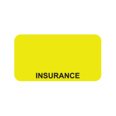 UL007 - INSURANCE - Fluorescent Chartreuse/Black Print