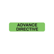 UL365 - ADVANCE DIRECTIVE - Fluorescent Green/Black