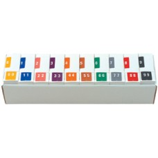 XLCC-SET | Smead 67250 Complete Set 0-9 Numeric Labels