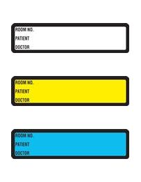 binder labels spine
