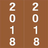 2018 Year Labels